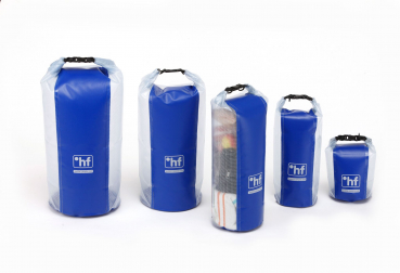 °hf Packsack Dry-Pack Transparent - 12 Liter