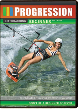 Progression Sports DVD Kitesurfen Beginner / Anfänger 2. Edition