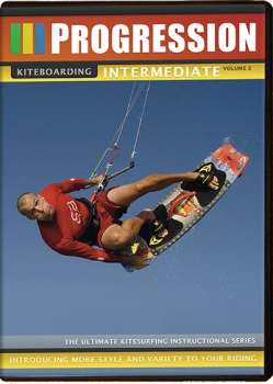 Progression Sports DVD Kitesurfen Intermediate Volume 2
