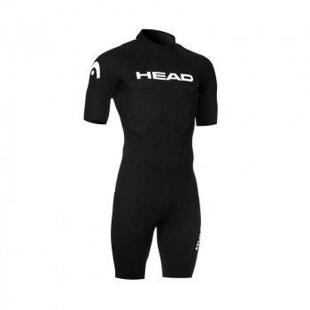 Head Multix VS 2.5 Shorty Neoprenanzug Herren Schwarz/Rot