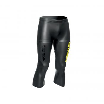 Head Race SwimRun 3/4 Pants Unisex Schwarz/Brasil