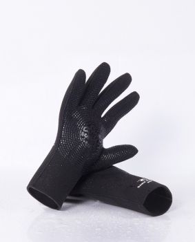 Rip Curl Dawn Patrol Neoprene Gloves 3mm 5-Finger Black