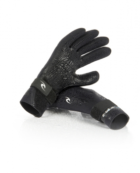 Rip Curl E Bomb Neoprene Gloves 2mm 5-Finger Black