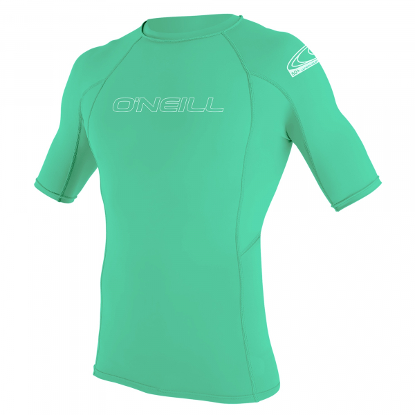 O'Neill Basic Skins Kunrzarm Rash Guard Youth Light Aqua