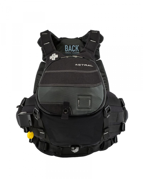 Astral Greenjacket Black Front View