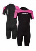 Head Sea Ranger 1.5 Shorty Neoprenanzug Pink für Kinder